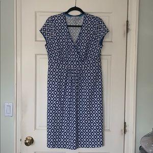 Boden print dress